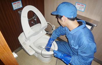 トイレ排水管洗浄