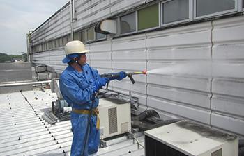 外壁抗菌洗浄